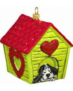 Forever Home Dog House - Heart Version