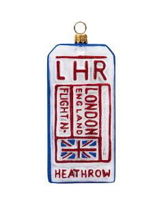 Luggage Tag London Version - NEW!