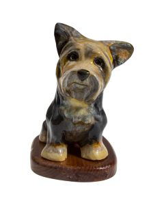 Yorkie Paper Mache - Now on Clearance!