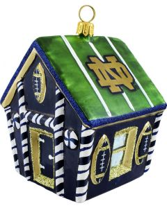 Notre Dame Collegiate Gingerbread House