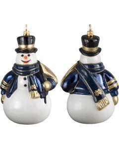Notre Dame Collegiate Snowman