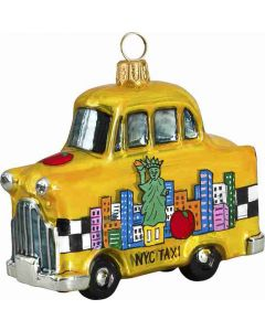 Yellow NY Taxi Cab - Pop Art Version