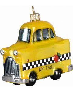 Yellow NY Taxi Cab