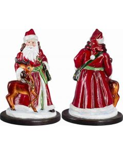 Santa and His Reindeer - Now on Clearance!