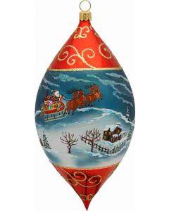 """Santa and His Sleigh 7"""" Drop"""