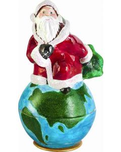Santa Kugel - Around the World Version - Now on Clearance!