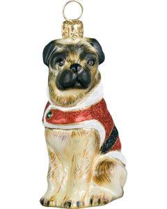 Santa Paws Pug