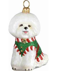 Santa's Little Yelper Bichon
