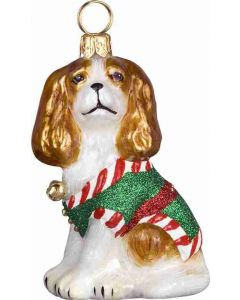 Santa's Little Yelper Cavalier King