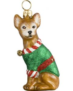 Santa's Little Yelper Chihuahua