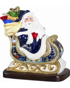 Santa and His Sleigh - Bratislava Version - Now on Clearance!