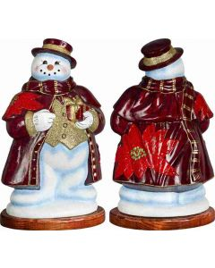 Tatra Snowman Poinsettia Version - Now on Clearance!