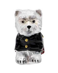 West Highland Terrier in Kilt - NEW!