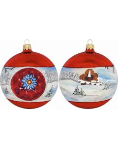 Zakopane Sleigh Ride Reflector Ball