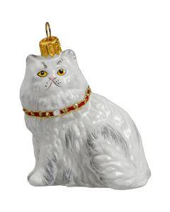 Persian White with Swarovski Crystal Collar
