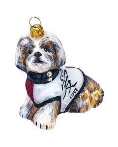 "Shih Tzu in Japanese ""Love"" Symbol"
