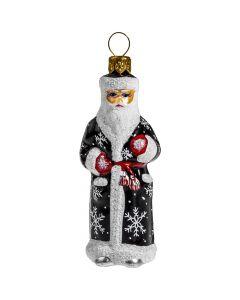 Schaller Mini Black Russian Santa - Now on Clearance!