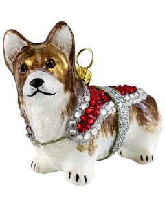 Pembroke Welsh Corgi in Crystal Coat