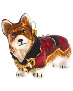 Pembroke Welsh Corgi in English Riding Jacket - NEW!