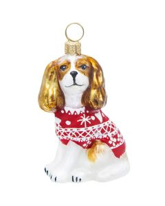 Cavalier King Blenheim in Nordic Sweater