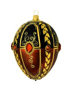 Black Russian Jeweled Egg