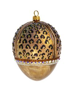 Leopard Jeweled Egg - NEW!