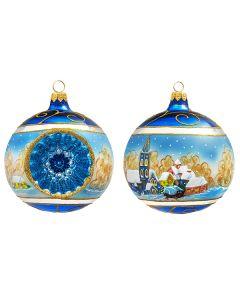 Christmas Town Reflector Ball