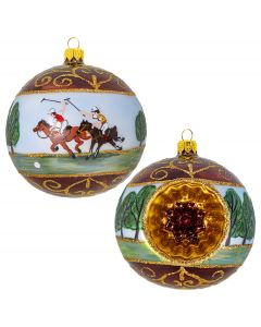 Polo Ponies Vintage Reflector Ball - NEW!