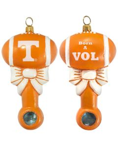 Tennessee Collegiate Baby Rattle