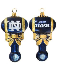 Collegiate Baby Rattle - Notre Dame