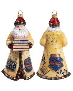 Glitterazzi Bookworm Santa - NEW!