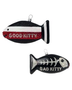 Good Kitty/ Bad Kitty Fish - Now on Clearance!