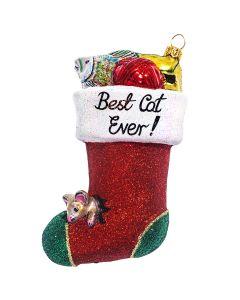 Best Cat Ever Stocking