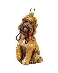 Labradoodle with Leash - NEW!